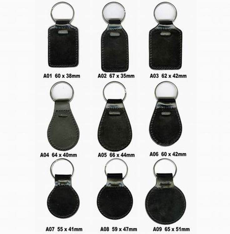 Wholesale Custom Car Logo Blank Leather Key Chain Buy Leather