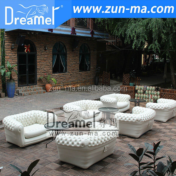 Inflatable Chesterfield Sofa Hire: Nice Classical Italy Inflatable Chesterfield Sofa