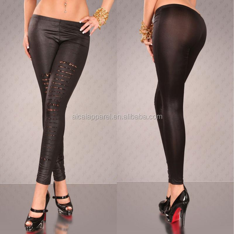 Girl In Tight Black Pants