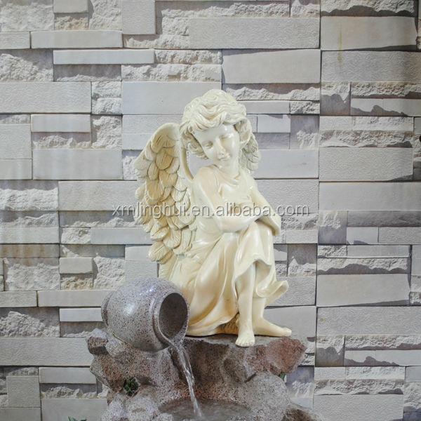 Fontana di acqua resina moderna statue del giardino - Statue da giardino in resina ...