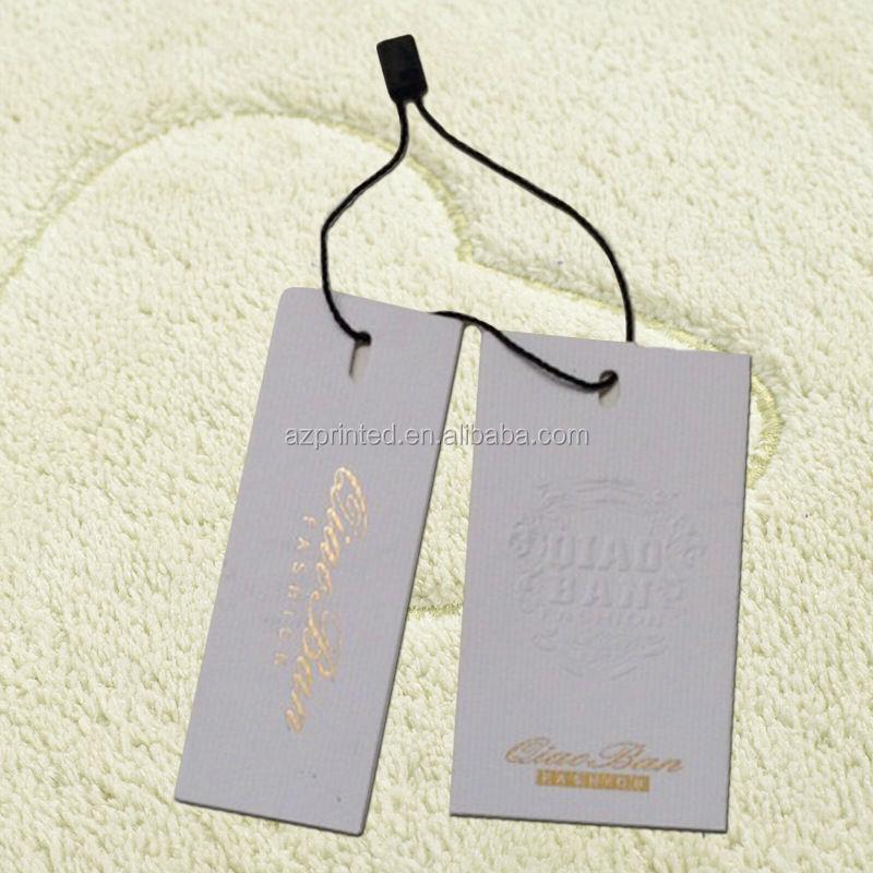Vogue Jeans Swing Tag/apparel Hangtag,Garment Hang Tag,Clothing ...