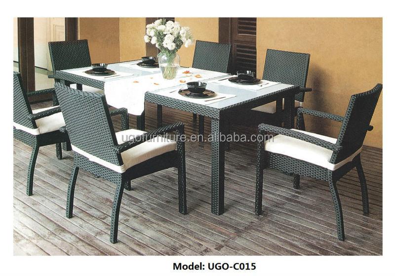 Populier ronde houten tafel en stoel eetkamer keuken meubels