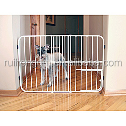 carlson metal folding expandable pet dog gate with doors pet gate - Carlson Pet Products