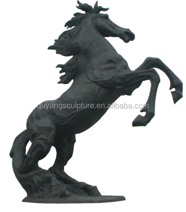 Life Size Horse Statues For Sale Rearing On The Hind Legs