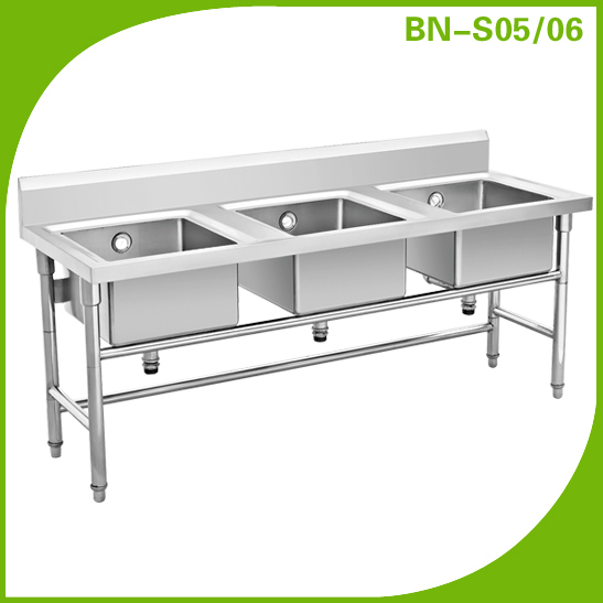 Restaurant Kitchen Work Stations restaurant kitchen sink/ stainless steel sink with drain desk