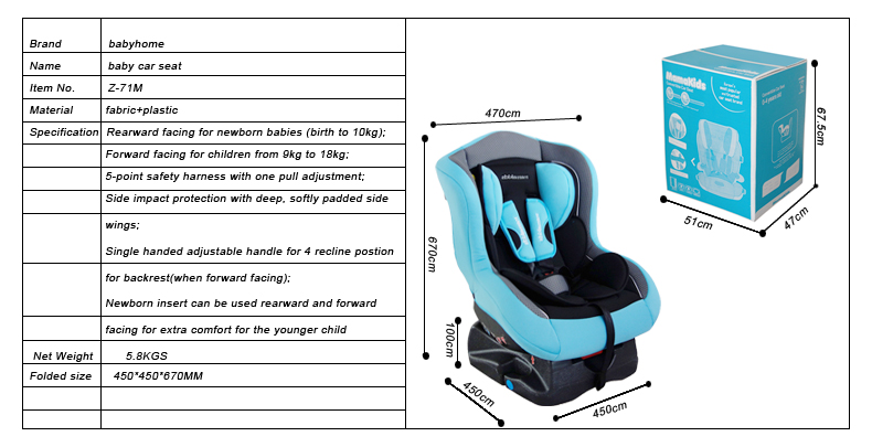 China Good Baby Shield Safety Car Seat Suppliers