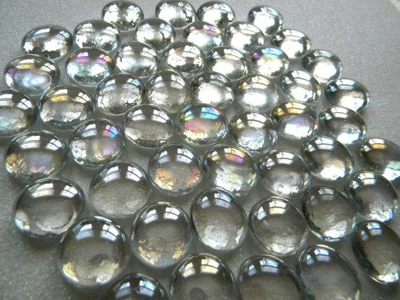 c rculo de cristal gemas gemas de vidrio plano