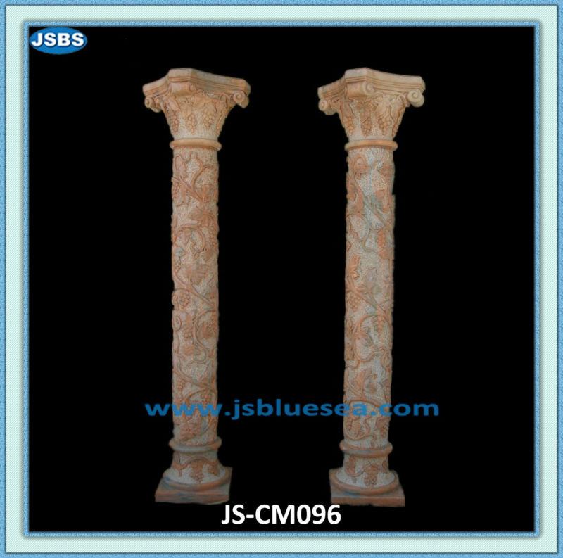 Modern Cheap Colored Garden Stone Column Pergola Design ...
