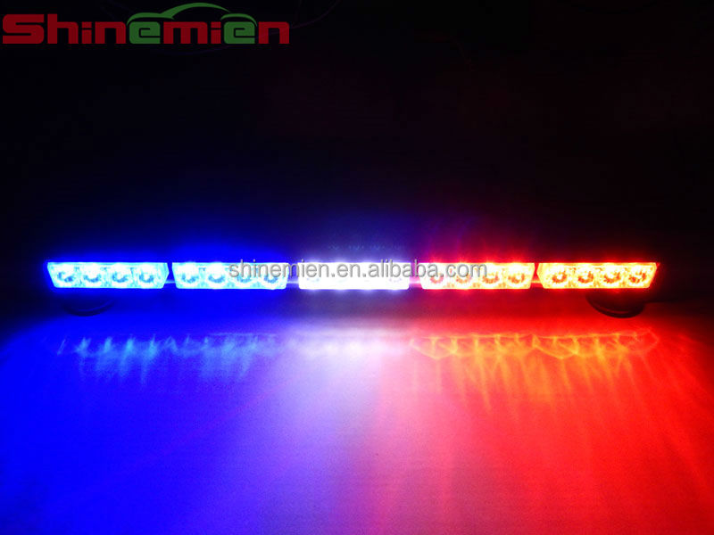 White red blue led strobe light barcar roof led light barflashing white red blue led strobe light barcar roof led light barflashing strobe aloadofball Image collections