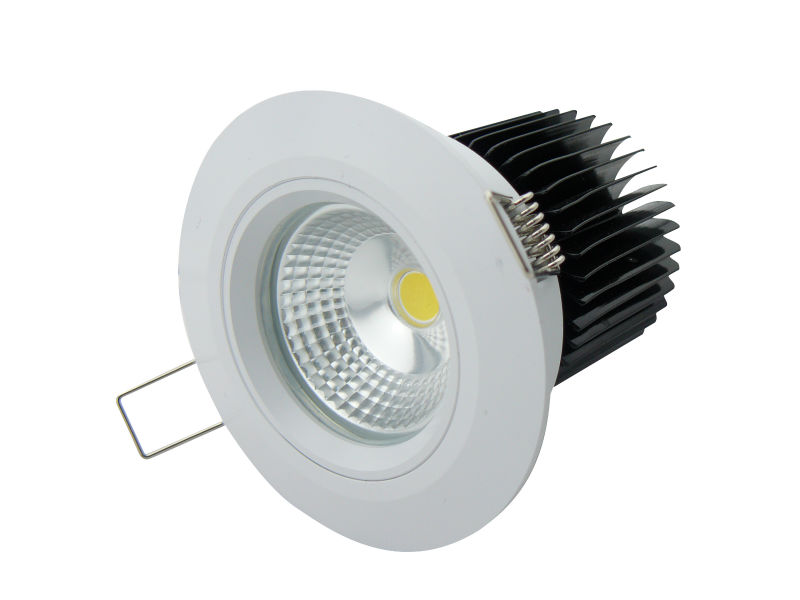 Ip64 10w Recessed Led Waterproof Shower Light