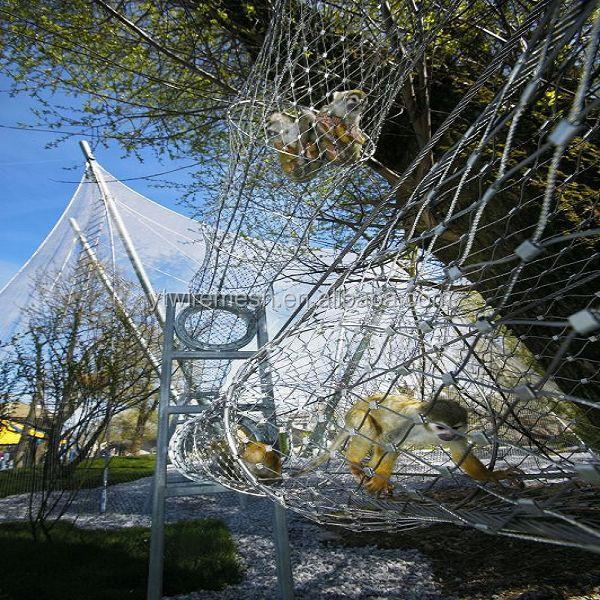 Stainless Steel X- Tend Flexible Ferruled Wire Rope Net