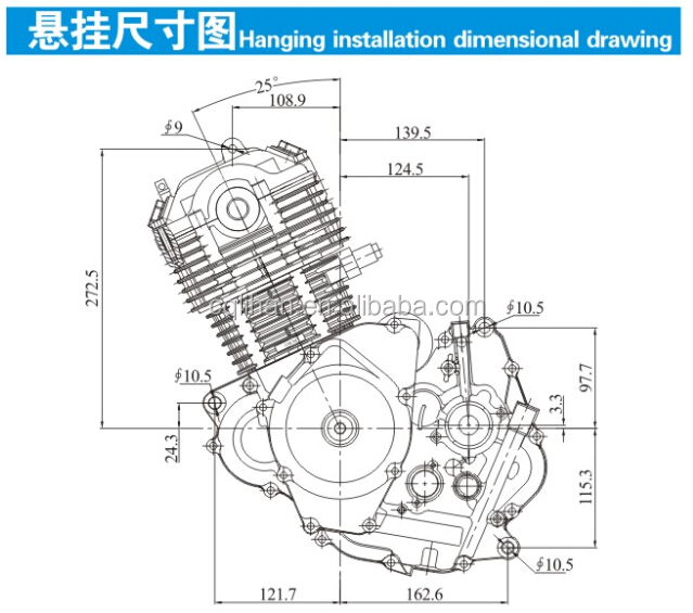 Zongshen 4 Stroke Small Gasoline Engine For 150cc Motorcycle: Motorcycles 150cc Engine Diagrams At Executivepassage.co