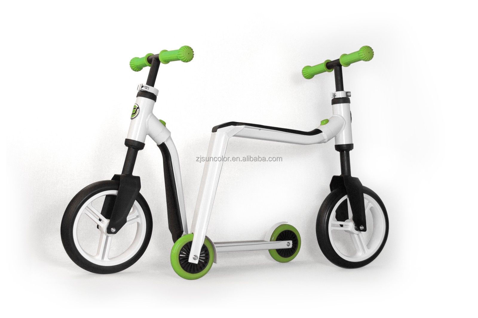 Child 2 In 1 Scooter Cheap Balance Push Bike Pro Stunt Kick