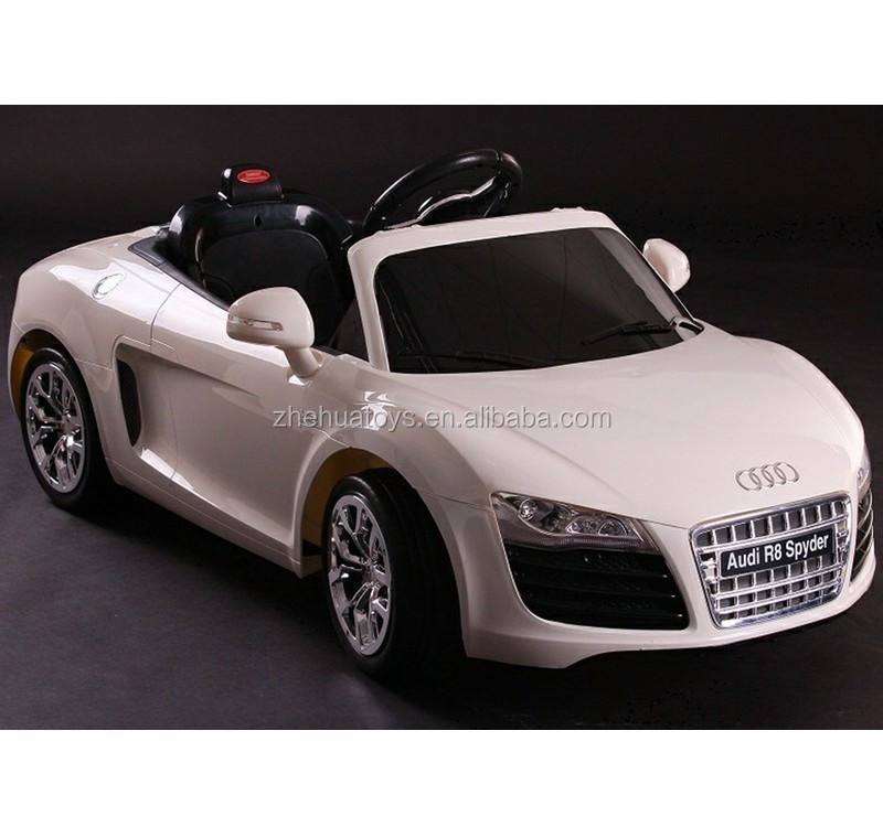 12volt licensed audi r8 electric toy cars for kids to drive custom kids toy ride on