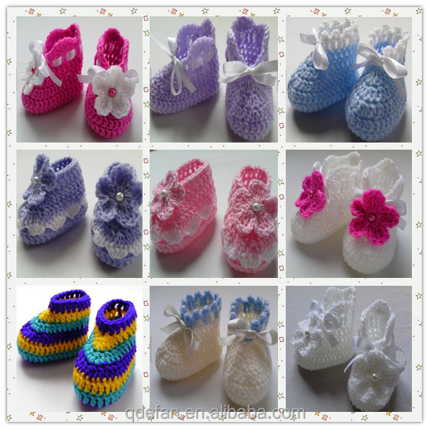 3be7e6011c9ad Crochet Baby Booties - Crochet Pattern - Ballet Shoes Crochet Pattern -  Crochet Baby Shoes- Ready To Ship Newborn Baby Shoes - Buy Crochet Baby ...