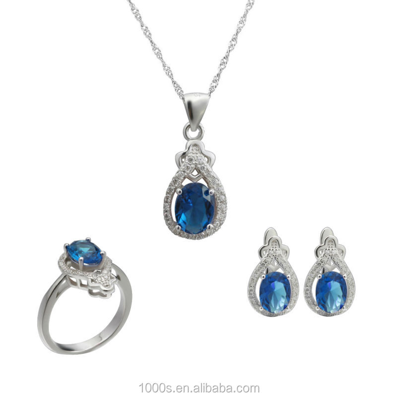 925 sterling silver jewelry sets , earring, ring,pendant sets wholesale, bridal jewelry
