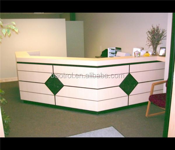 Modern Design Office Reception Desk Counter Front