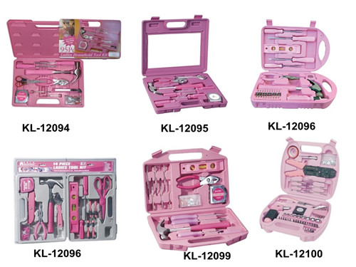 83PCS Garden Tools Set For Woman;ladies Tool Kit Pink Tool Set;pink Tool