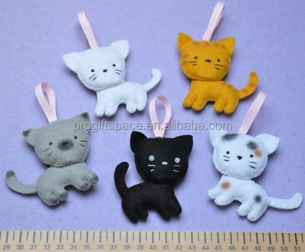 2017 New Fashion Hotsale Cheap Cute Cat Decor Wool Crafts Design ...