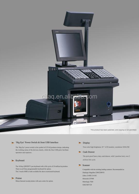 Modern Cash Register Touch View Modern Cash Register