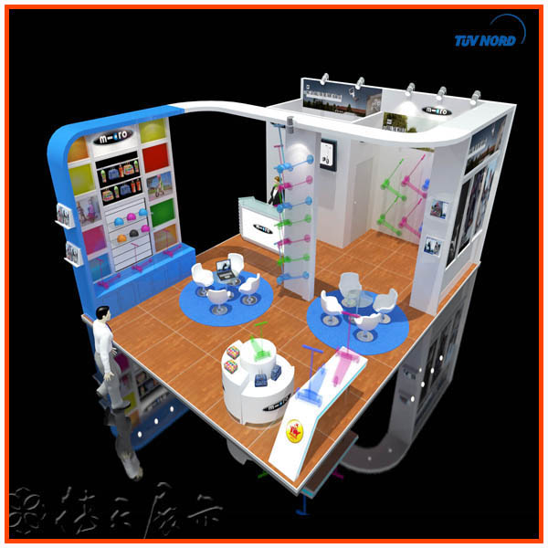 Portable Exhibition Booth : Portable octanorm exhibition system display booth