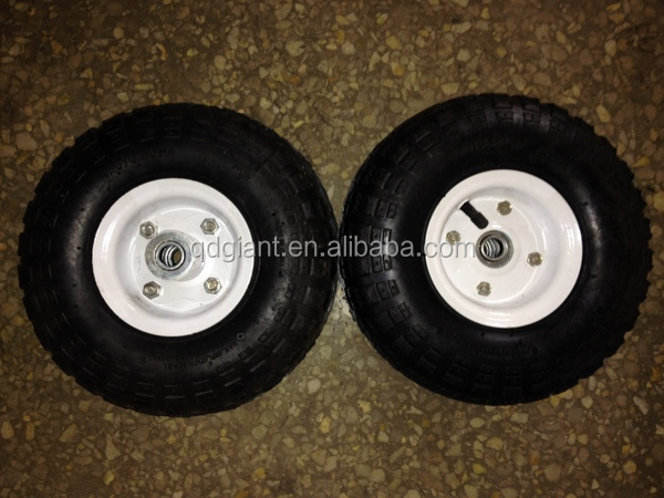 "10"" flat air free replacement tires for sale"
