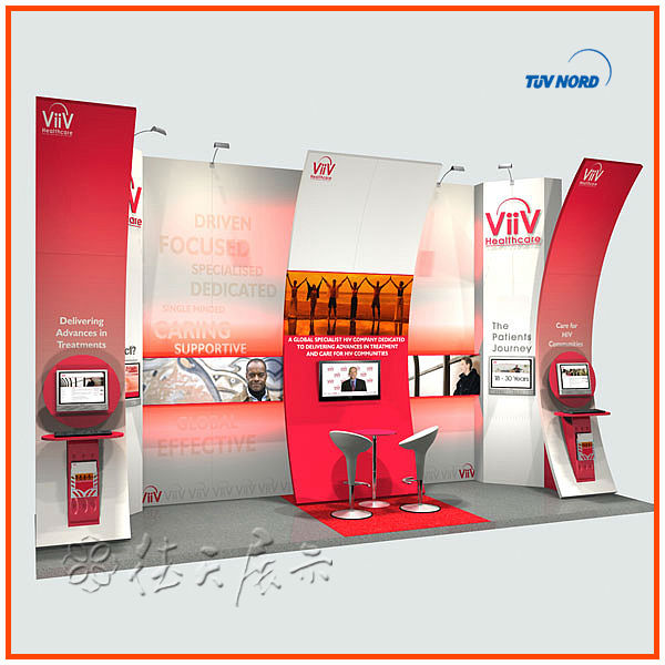 Exhibition Stall Lights : Simple modular exhibition stall design and fabrication