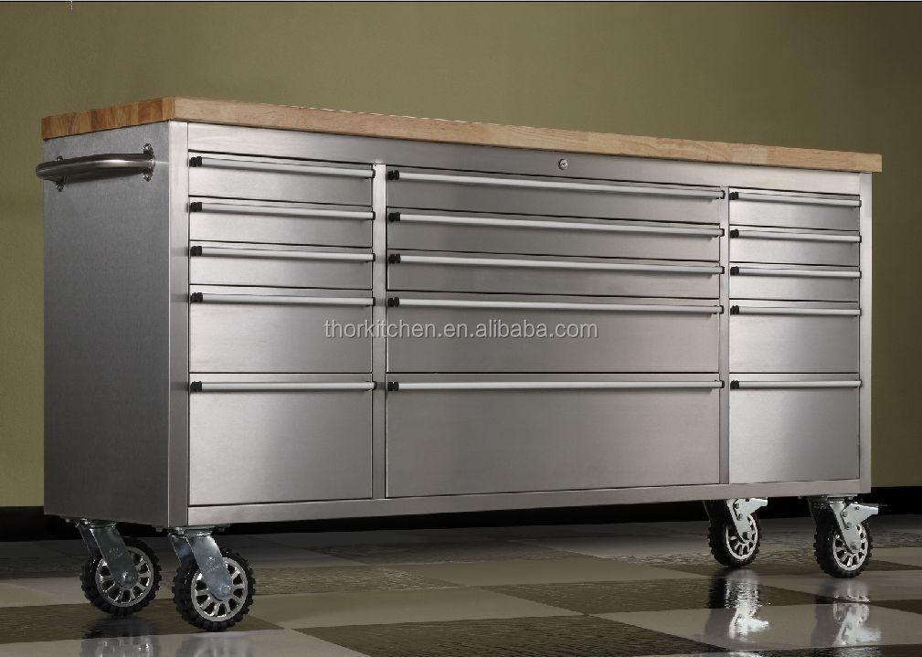 Kast Op Wielen : 72 inch zware rvs lade tool box kast op wielen buy rvs