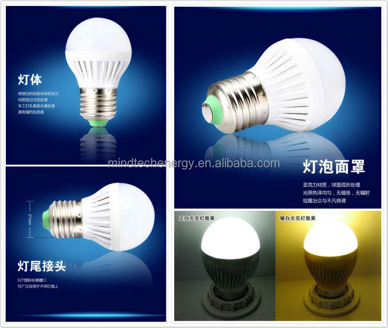 Lampe Berger E27 Dc 12v 3 W 5w 7w 9w Solar Energy Saving Led Lamp ...