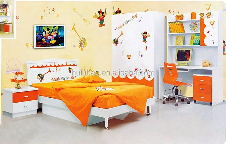 Mdf Modern Kids Furniture Cheap Prices Baby Bed 1213-28