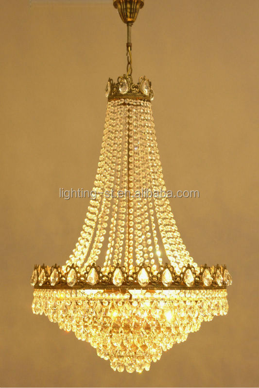 Antique French Style Crystal Chandelier Classic Large Lighting – French Style Chandelier