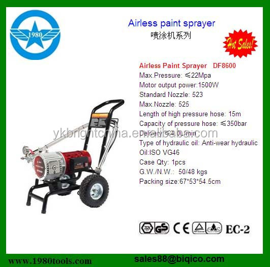 Intelligent 740i Electric Piston Pump Airless Paint Sprayer China ...