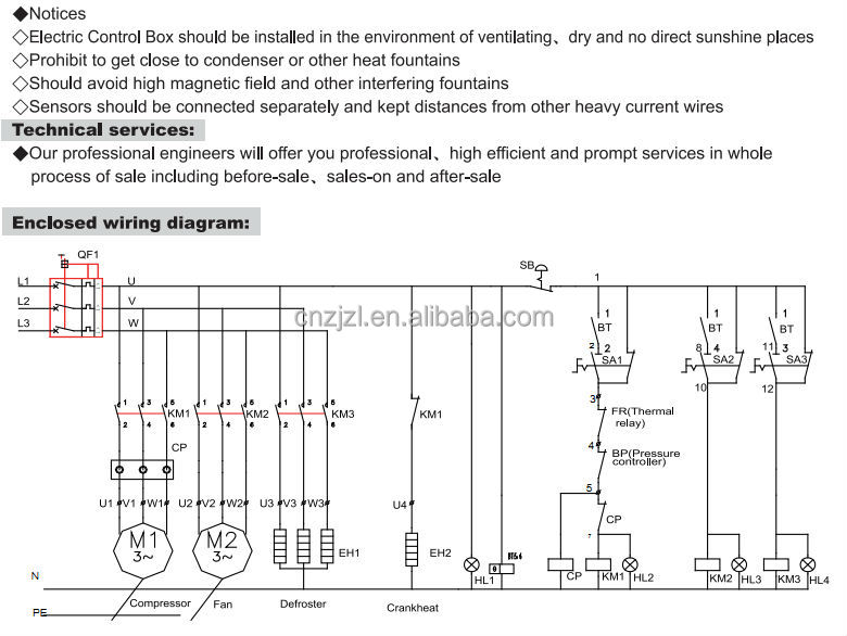 HT1bWgbFFFdXXagOFbX0 cold room control panel , electrical distribution control box cold room wiring diagram at aneh.co