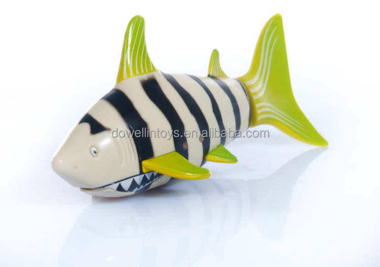 Rc robot fish remote control swimming shark with swing for Robot fish toy