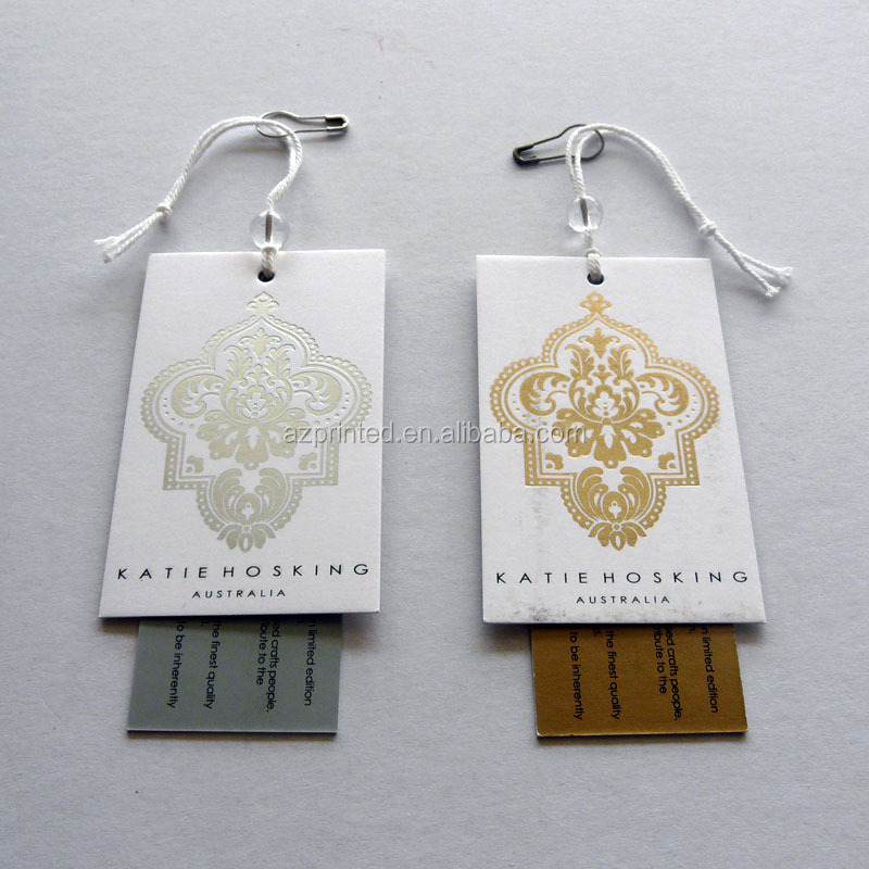 Old Fashion Style Unique Logo Printed Swing Tags Design,Garment ...
