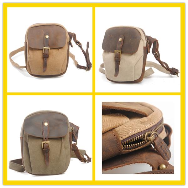 Hot Sale Popular Vintage Canvas Custom Women Branded Sling Bag ...