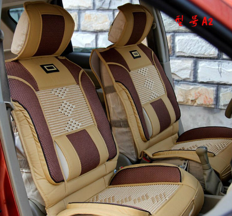 Leather Comfortable Anime Car Seat Cover