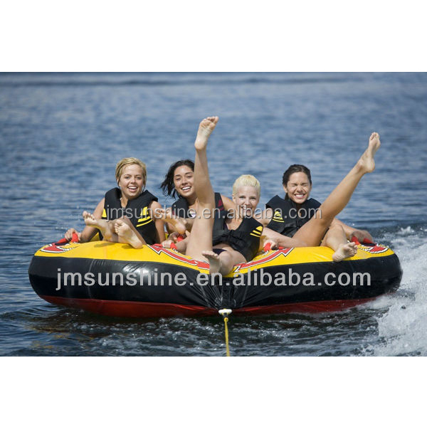 China Manufacturer 3 Person Inflatable Water Tube / Inflatable ...
