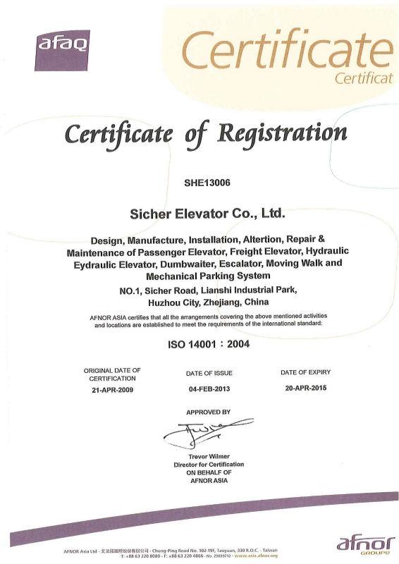 Srh Elevator Lift Manufacturer In China