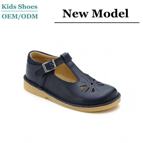 Custom Made Baby Girl Booties Guangzhou Shoes Factory OEM Girls Black  Leather School Shoes 8cfeaf8cd84c