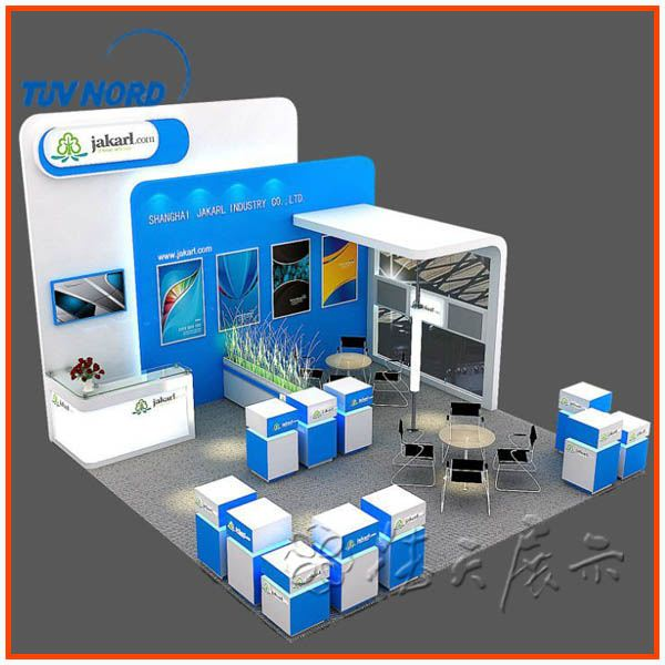 Shanghai Exhibition Stand Material With Led