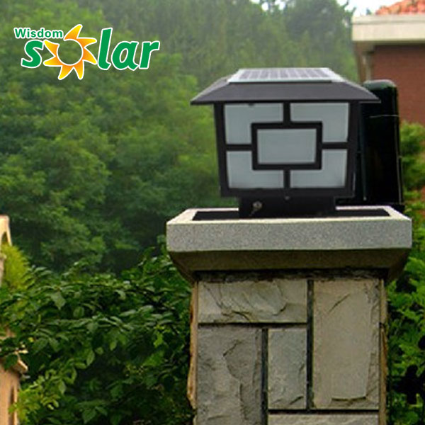 Waterproof Ip65 Outdoor Pillar Lantern Main Gate Garden Lights ...
