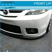 For 06-07 Mazda 5 Premacy Poly Urethane Front Bumper Lip Spoiler ...