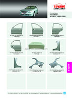 Hyundai Accent (2006-2012) Radiator Support Juncheng Auto Metal ...