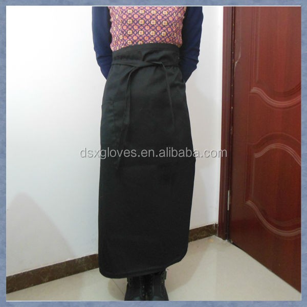 Silk Screen Printed Half Apron Cooking Wear Half Apron