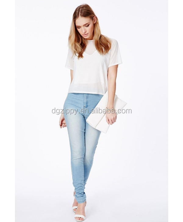 Mixed Fibres Latest Design Pants Pictures Sexy Jeans Women Jean ...