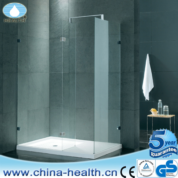Cabina doccia custodie rettangolo doccia senza telaio - Box doccia senza silicone ...