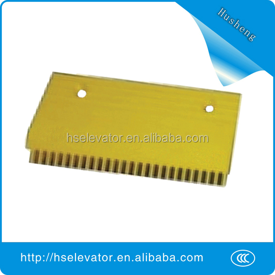escalator comb plate, escalator yellow strip, escalator price