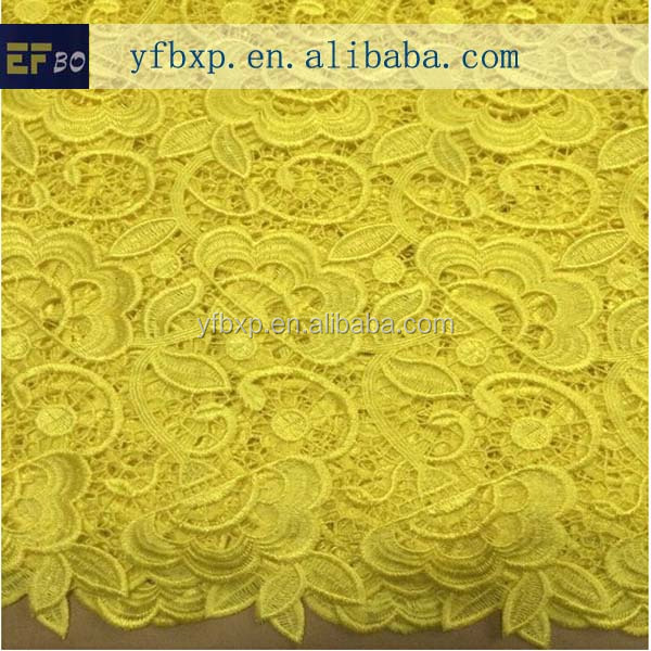2014 Hand Embroidery Designs African Cupion Lace Fabric/ French ...