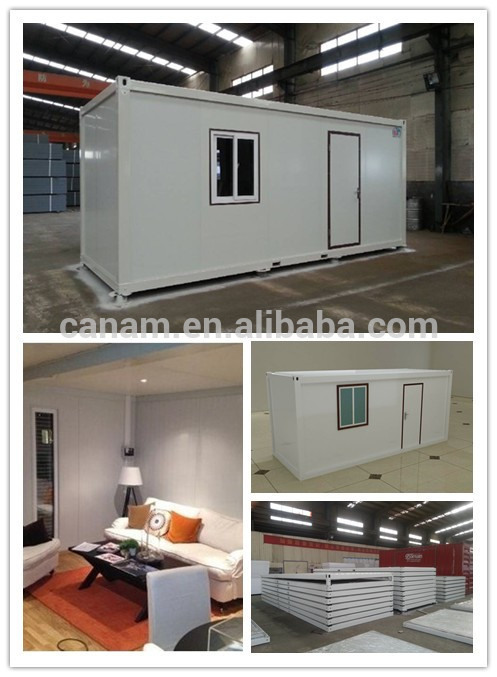modern prefabricated flat pack living 20ft container house